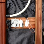 Verteilung für 230V/Trafo, 12V und Lautsprecherkabel